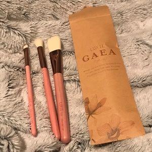 Luxie Gaea 3-Piece Brush Set